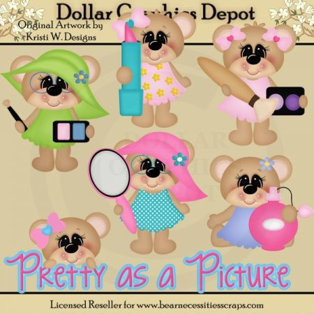 Pretty Bears - Clip Art - *DGD Exclusive*