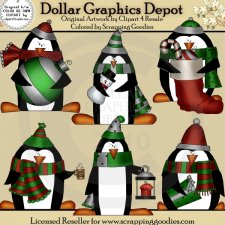 Christmas Penguins 2