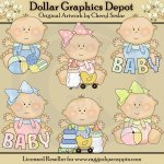Just Babies - Everyday - Clip Art
