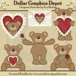 Beary Cute - Clip Art