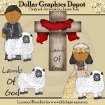 Lamb of God 3 - Clip Art