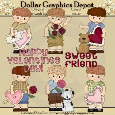 Little Luke - Valentine - Clip Art