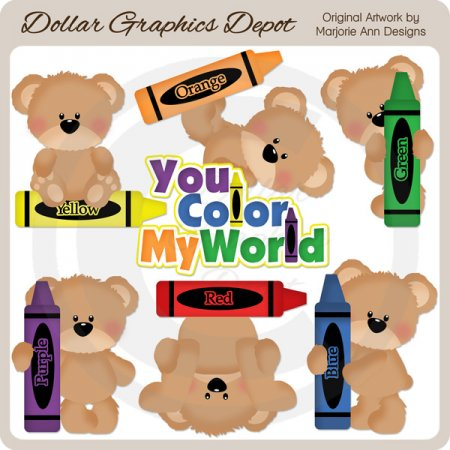 You Color My World - Clip Art