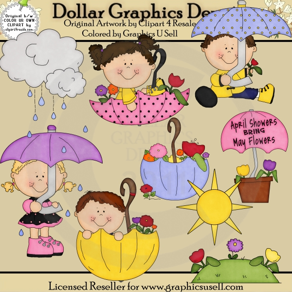 April Showers Bring May Flowers Clipart Cliparts Galleries