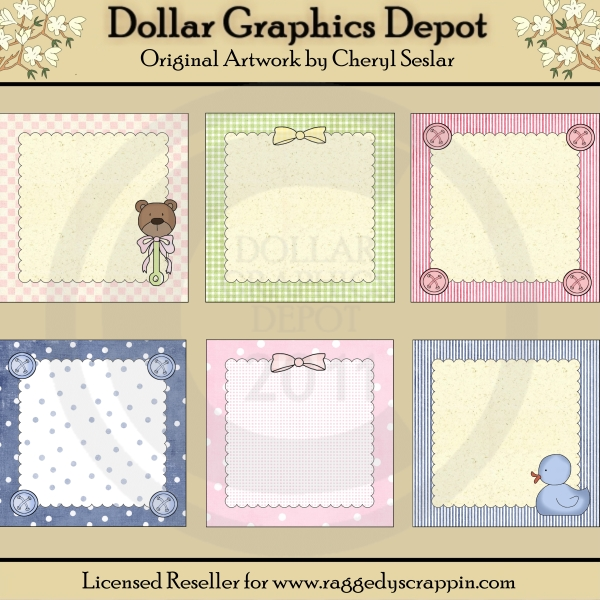 Baby Delights - Framed Starters - Click Image to Close
