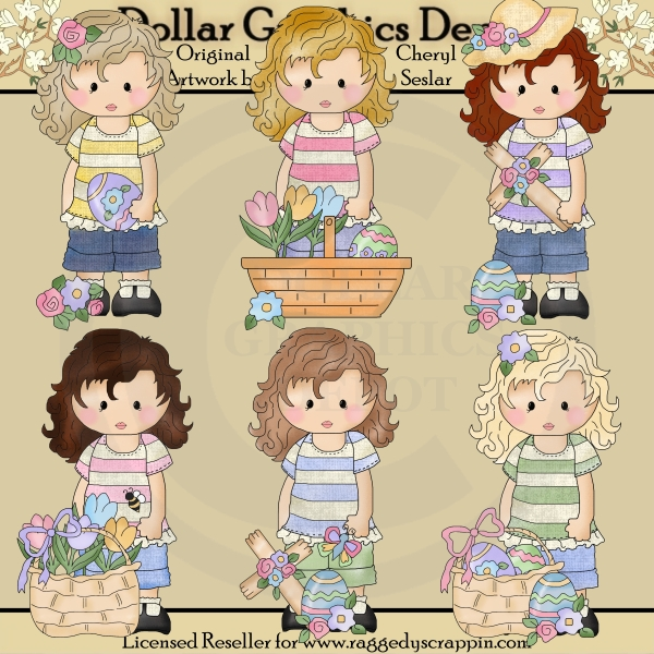 Felicity Jane - Easter Blessings - Clip Art