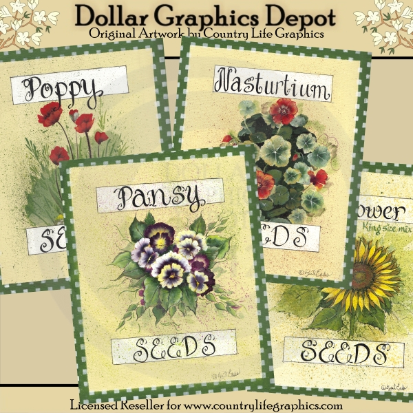 Flower Seed Packets - Click Image to Close