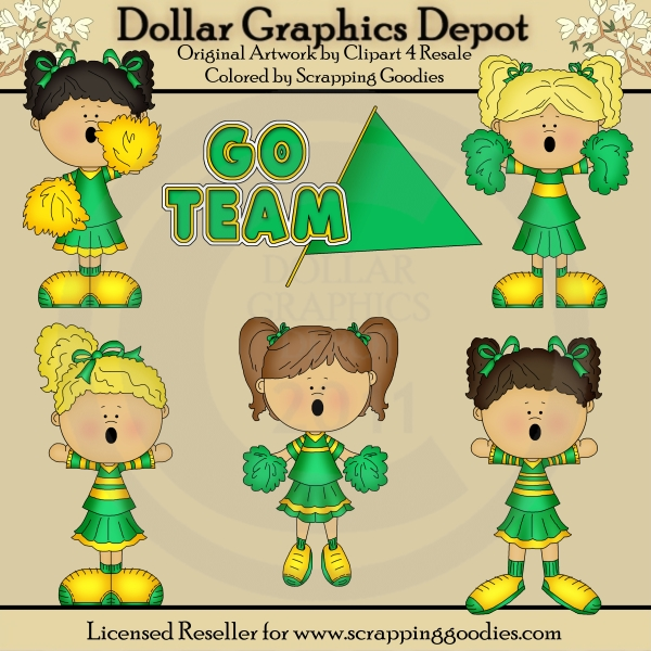 Go Team - Cheerleaders - Click Image to Close