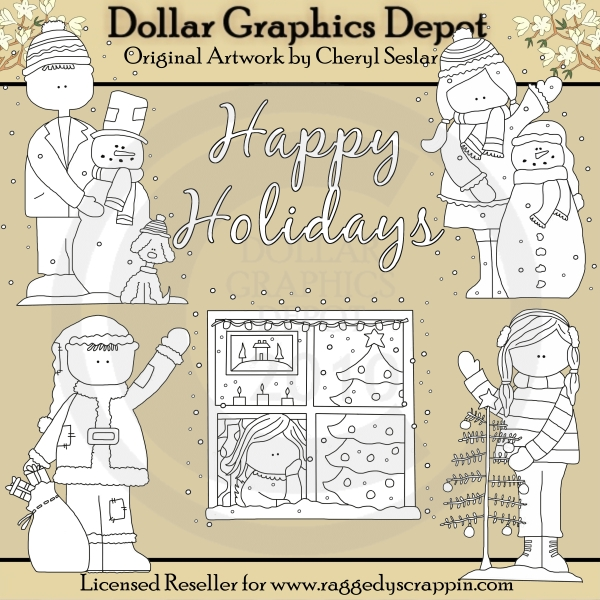 Holiday Kids - *DGD Exclusive* - Click Image to Close