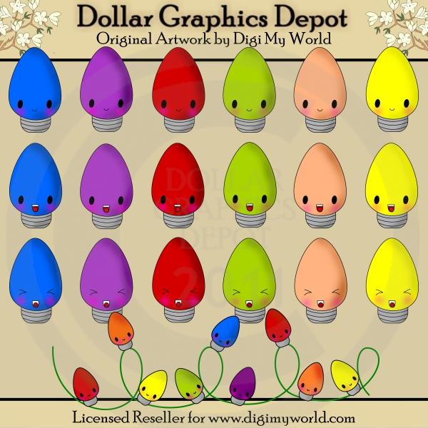 Kawaii Christmas - $1.00 : Dollar Graphics Depot, Quality Graphics ...