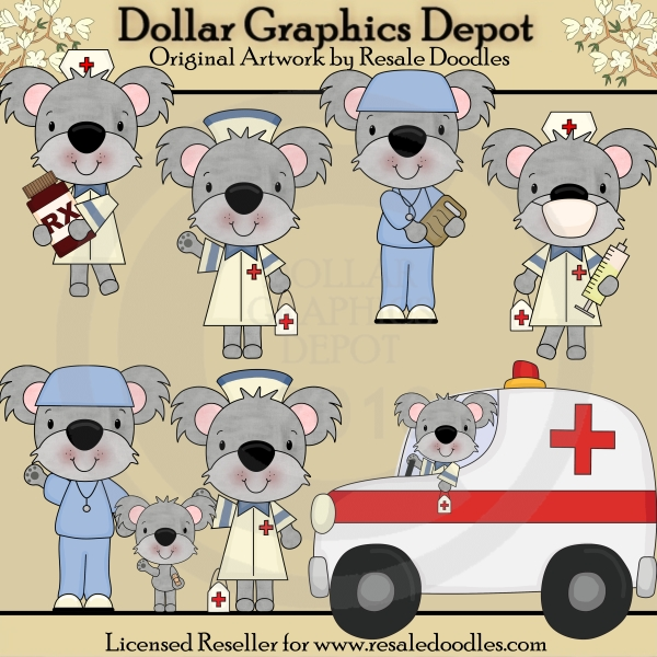 Koala Medics - Clip Art - Click Image to Close