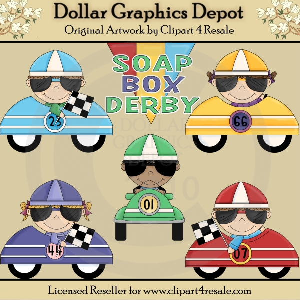 Lil Soap Box Racers - *DGD Exclusive* - Click Image to Close