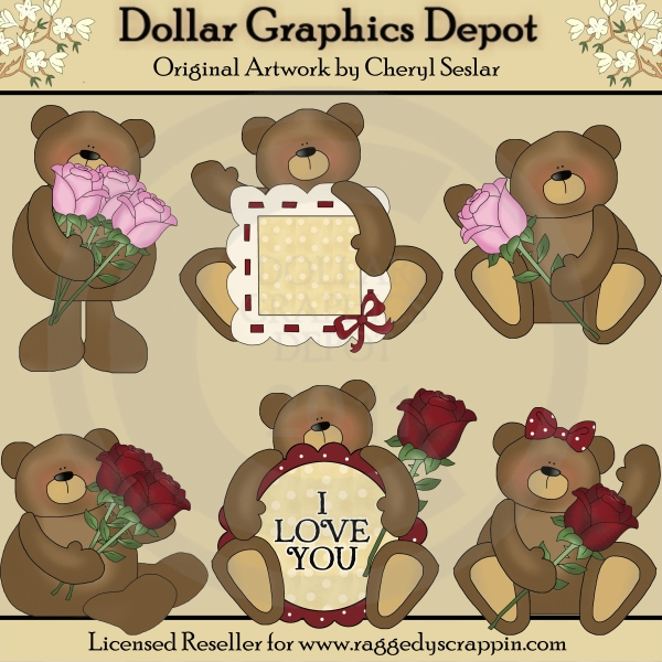 Love Bears - Clip Art - Click Image to Close