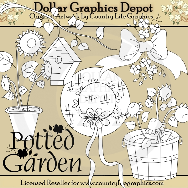 Potted Garden (DS) - Click Image to Close