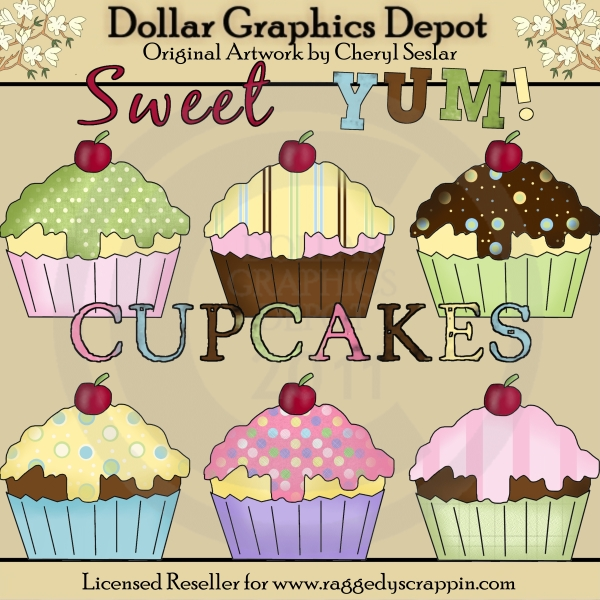 Yummy Cupcakes - Click Image to Close