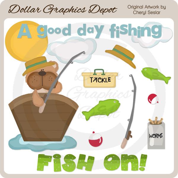 Fishing / Boating Clip Art : Dollar Graphics Depot - Quality ...