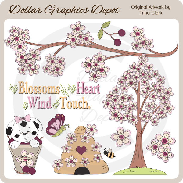 Blossoms Of The Heart - Clip Art - Click Image to Close