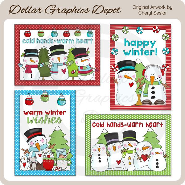 Cold Hands - Warm Heart Cards - Click Image to Close