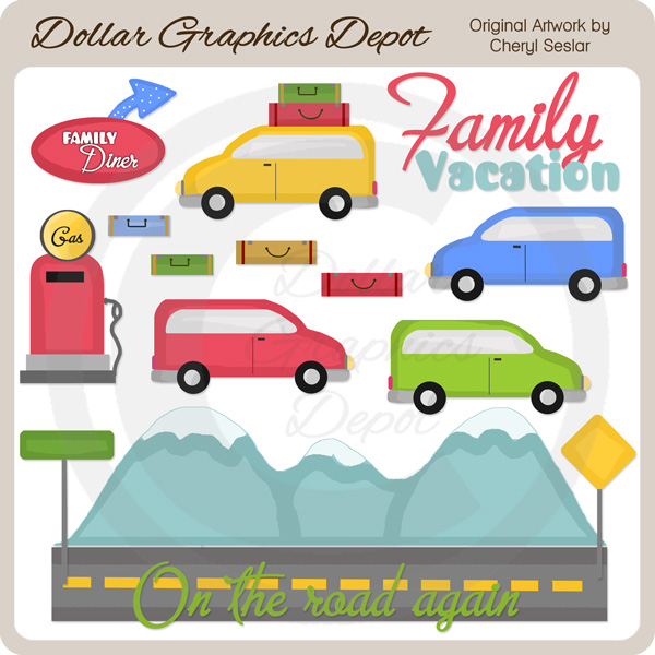 Family Vacation - Clip Art - Click Image to Close