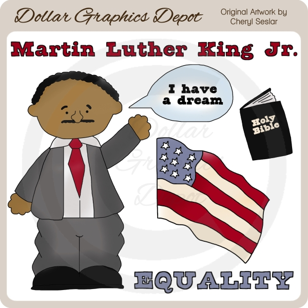 martin luther king jr clip art 1 00 dollar graphics depot