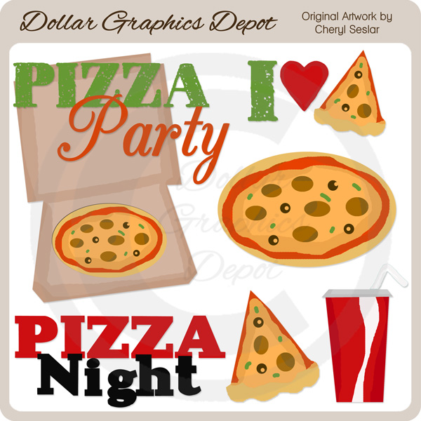 pizza party clip art 1 00 dollar graphics depot quality rh dollargraphicsdepot com clipart pizza party clipart pizza party