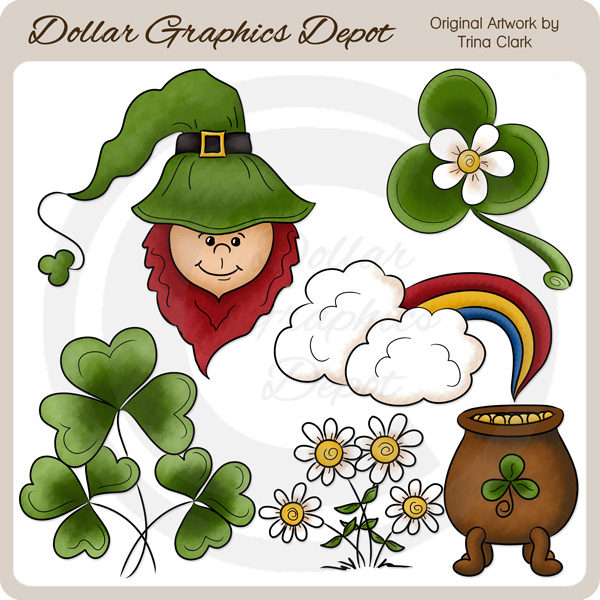 St. Patrick's Day - Clip Art - Click Image to Close
