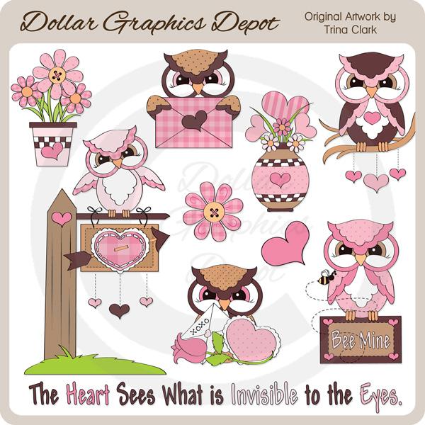 Valentine Owl Clip Art, Transparent PNG Clipart Images Free Download -  ClipartMax